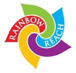 Rainbow Reach Color Logo